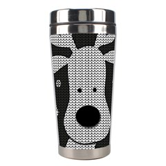 Cute Reindeer  Stainless Steel Travel Tumblers by Valentinaart