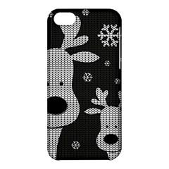 Cute Reindeer  Apple Iphone 5c Hardshell Case by Valentinaart