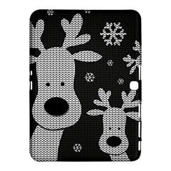 Cute Reindeer  Samsung Galaxy Tab 4 (10 1 ) Hardshell Case  by Valentinaart