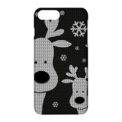 Cute Reindeer  Apple Iphone 8 Plus Hardshell Case by Valentinaart
