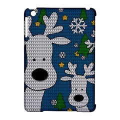 Cute Reindeer  Apple Ipad Mini Hardshell Case (compatible With Smart Cover) by Valentinaart