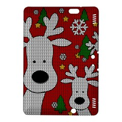 Cute Reindeer  Kindle Fire Hdx 8 9  Hardshell Case by Valentinaart