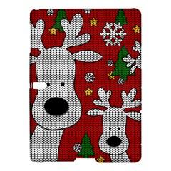Cute Reindeer  Samsung Galaxy Tab S (10 5 ) Hardshell Case  by Valentinaart