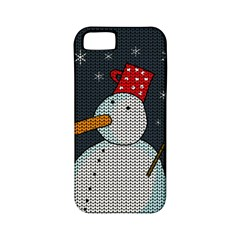 Snowman Apple Iphone 5 Classic Hardshell Case (pc+silicone) by Valentinaart