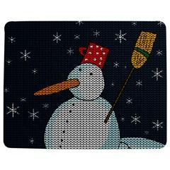 Snowman Jigsaw Puzzle Photo Stand (rectangular) by Valentinaart