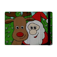 Santa And Rudolph Selfie  Ipad Mini 2 Flip Cases by Valentinaart
