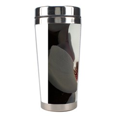 Magnolia Floral Flower Pink White Stainless Steel Travel Tumblers by yoursparklingshop