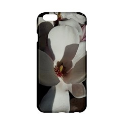 Magnolia Floral Flower Pink White Apple Iphone 6/6s Hardshell Case by yoursparklingshop