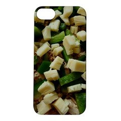 Cheese And Peppers Green Yellow Funny Design Apple Iphone 5s/ Se Hardshell Case by yoursparklingshop