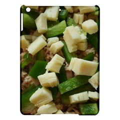 Cheese And Peppers Green Yellow Funny Design Ipad Air Hardshell Cases by yoursparklingshop