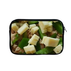 Cheese And Peppers Green Yellow Funny Design Apple Macbook Pro 13  Zipper Case by yoursparklingshop