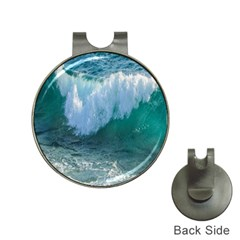 Awesome Wave Ocean Photography Hat Clips With Golf Markers by yoursparklingshop