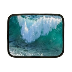 Awesome Wave Ocean Photography Netbook Case (small)  by yoursparklingshop