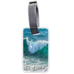 Awesome Wave Ocean Photography Luggage Tags (one Side)  by yoursparklingshop