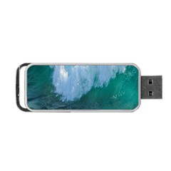 Awesome Wave Ocean Photography Portable Usb Flash (two Sides) by yoursparklingshop
