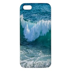 Awesome Wave Ocean Photography Apple Iphone 5 Premium Hardshell Case by yoursparklingshop
