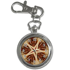 Spaghetti Italian Pasta Kaleidoscope Funny Food Star Design Key Chain Watches by yoursparklingshop