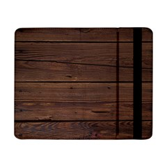 Rustic Dark Brown Wood Wooden Fence Background Elegant Samsung Galaxy Tab Pro 8 4  Flip Case by yoursparklingshop