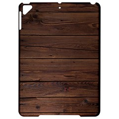 Rustic Dark Brown Wood Wooden Fence Background Elegant Apple Ipad Pro 9 7   Hardshell Case by yoursparklingshop