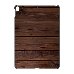 Rustic Dark Brown Wood Wooden Fence Background Elegant Apple Ipad Pro 10 5   Hardshell Case by yoursparklingshop