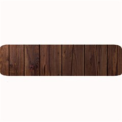 Rustic Dark Brown Wood Wooden Fence Background Elegant Natural Country Style Large Bar Mats by yoursparklingshop