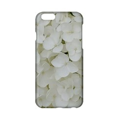 Hydrangea Flowers Blossom White Floral Elegant Bridal Chic Apple Iphone 6/6s Hardshell Case by yoursparklingshop