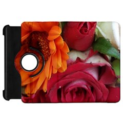 Floral Photography Orange Red Rose Daisy Elegant Flowers Bouquet Kindle Fire Hd 7  by yoursparklingshop