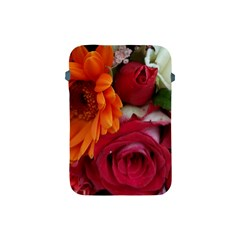 Floral Photography Orange Red Rose Daisy Elegant Flowers Bouquet Apple Ipad Mini Protective Soft Cases by yoursparklingshop