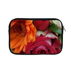 Floral Photography Orange Red Rose Daisy Elegant Flowers Bouquet Apple iPad Mini Zipper Cases Front