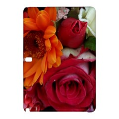 Floral Photography Orange Red Rose Daisy Elegant Flowers Bouquet Samsung Galaxy Tab Pro 10 1 Hardshell Case by yoursparklingshop