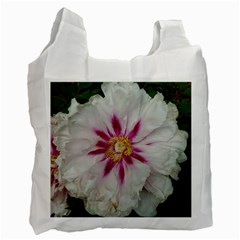 Floral Soft Pink Flower Photography Peony Rose Recycle Bag (one Side) by yoursparklingshop