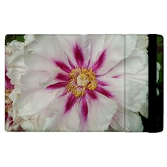 Floral Soft Pink Flower Photography Peony Rose Apple Ipad 2 Flip Case by yoursparklingshop