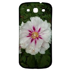 Floral Soft Pink Flower Photography Peony Rose Samsung Galaxy S3 S Iii Classic Hardshell Back Case by yoursparklingshop