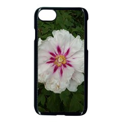 Floral Soft Pink Flower Photography Peony Rose Apple Iphone 7 Seamless Case (black) by yoursparklingshop