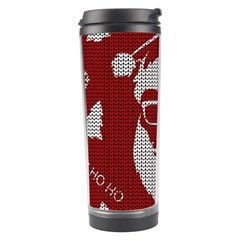 Ugly Christmas Sweater Travel Tumbler by Valentinaart