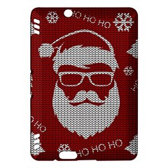 Ugly Christmas Sweater Kindle Fire Hdx Hardshell Case by Valentinaart