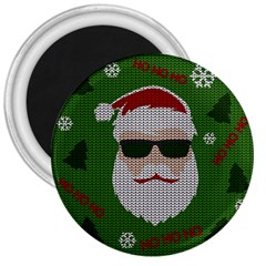 Ugly Christmas Sweater 3  Magnets by Valentinaart