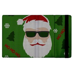 Ugly Christmas Sweater Apple Ipad 2 Flip Case by Valentinaart