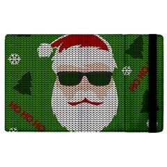 Ugly Christmas Sweater Apple Ipad Pro 12 9   Flip Case by Valentinaart
