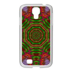 Feathers And Gold In The Sea Breeze For Peace Samsung Galaxy S4 I9500/ I9505 Case (white) by pepitasart