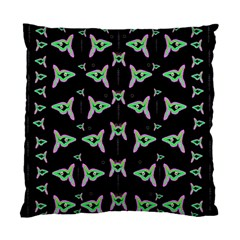 Fishes Talking About Love And Stuff Standard Cushion Case (one Side) by pepitasart