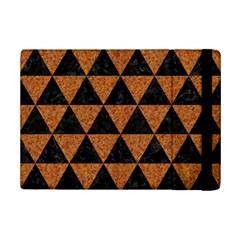 Triangle3 Black Marble & Teal Leather Ipad Mini 2 Flip Cases by trendistuff