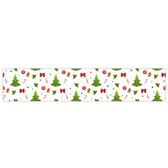 Christmas Pattern Small Flano Scarf by Valentinaart