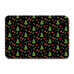 Christmas Pattern Plate Mats by Valentinaart