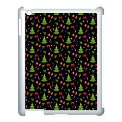 Christmas Pattern Apple Ipad 3/4 Case (white) by Valentinaart