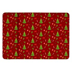 Christmas Pattern Samsung Galaxy Tab 8 9  P7300 Flip Case by Valentinaart