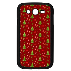 Christmas Pattern Samsung Galaxy Grand Duos I9082 Case (black) by Valentinaart