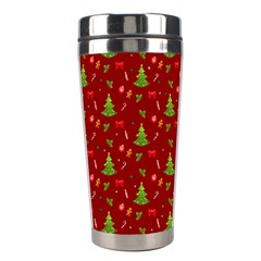 Christmas Pattern Stainless Steel Travel Tumblers by Valentinaart