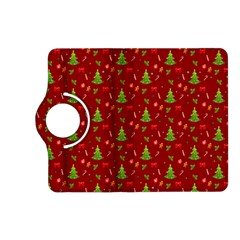 Christmas Pattern Kindle Fire Hd (2013) Flip 360 Case by Valentinaart