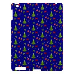Christmas Pattern Apple Ipad 3/4 Hardshell Case by Valentinaart